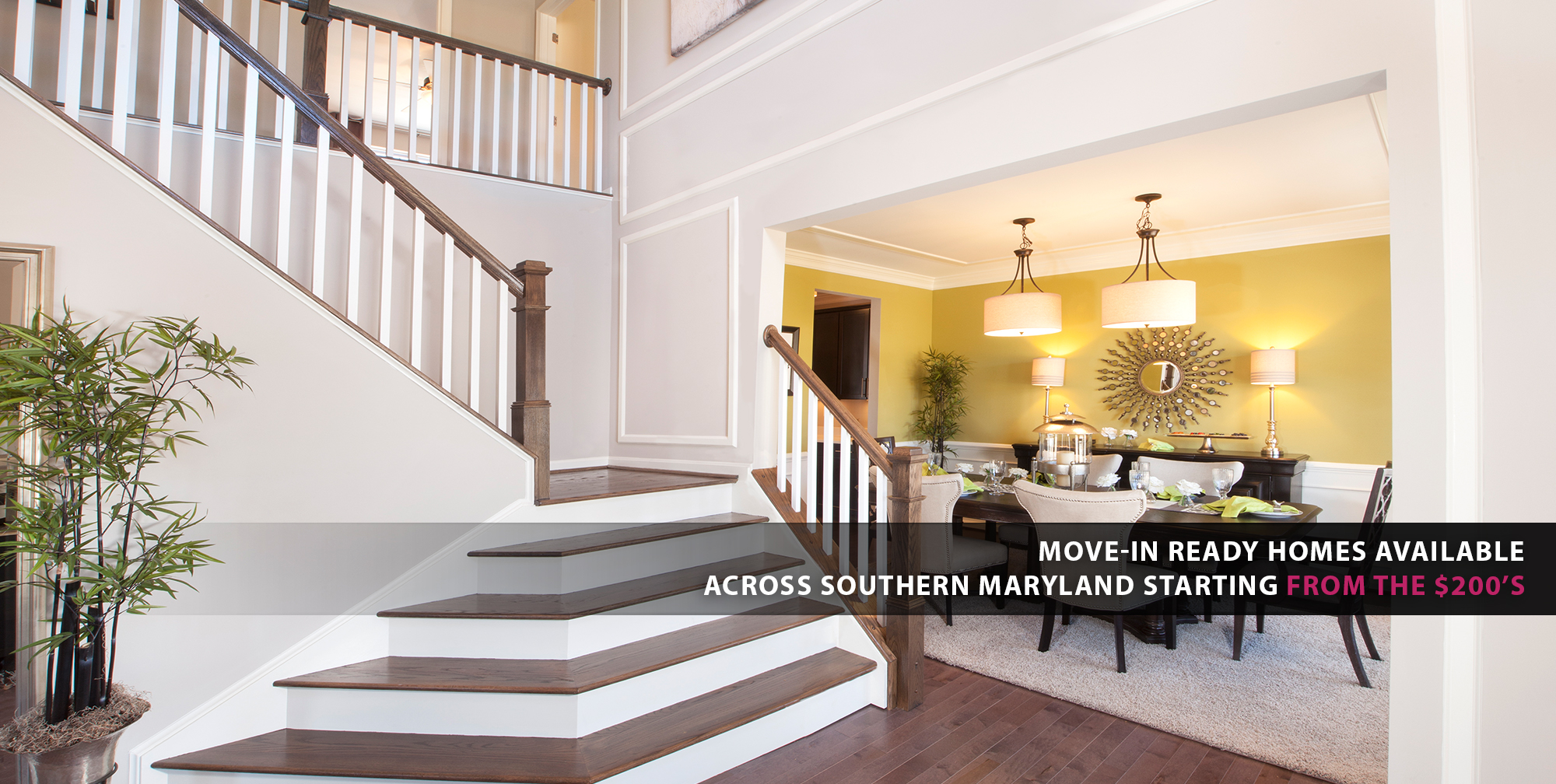 New homes st mary s county charles county pg county for Home builders in southern maryland